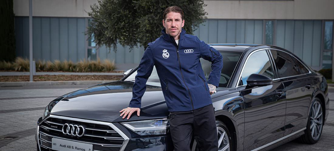 Entrega Coches Audi y Real Madrid